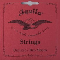 AQUILA Red Ukulele String Set