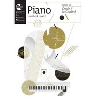 AMEB Piano Series 18 Level 2 Handbook Grade 5 - 8