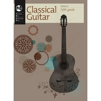 AMEB Classical Guitar Series 2 - Grade 5