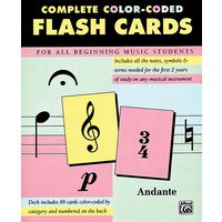 Alfred Complete Colour Coded Flashcards