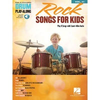 Rock Songs for Kids - Drum Playalong