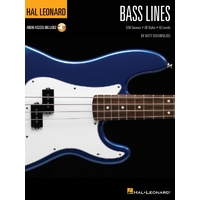 Hal Leonard Bass Lines 500 Grooves all Styles All Levels