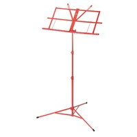 ARMOUR MS3127R Music Stand with Bag in Red