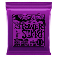 Ernie Ball Slinky Nickel Wound Electric String Set Power Slinky 11-48