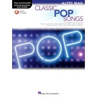 Classic Pop Songs for Alto Saxophone