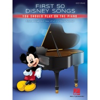 First 50 Disney Songs You Should on the Piano