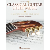 Classical Guitar Sheet Music