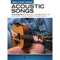 Acoustic Songs - Really Easy Guitar Series