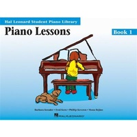 Hal Leonard Student Piano Library HLSPL - Piano Lesson Book 1 - Book only