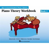 Hal Leonard Student Piano Library HLSPL - Theory Wookbook - Book 1
