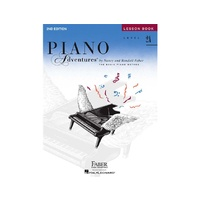Piano Adventures Level 2A Lesson Book - Book Only