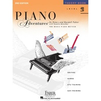 Piano Adventures Level 2B - Theory Book