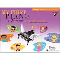 My First Piano Adventure Lesson Book C with CD