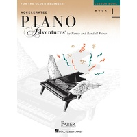 Accelerated Piano Adventures for the Older Beginner - Lesson Book 1 - International Edition