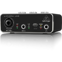 BEHRINGER U-Phoria UM2 2 Channel USB Audio Interface