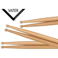 VATER Power 5B Hickory Nylon Tip Sticks 3 Pairs