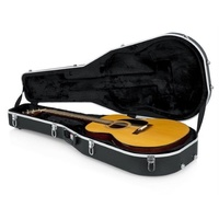 GATOR Deluxe Molded Dreadnought Guitar Case - GC-DREAD