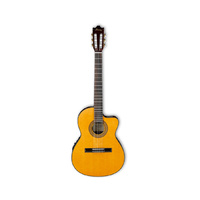 IBANEZ  GA5TCE Thinline Cutaway Classical Guitar with Pickup