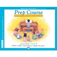 Alfred's Basic Piano Prep Course Lesson Book B