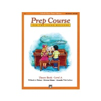 Alfred's Basic Piano Prep Course Theory Book A