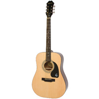 EPIPHONE DR100 Acoustic Guitar Natural Finish