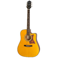 EPIPHONE Masterbilt DR-400MCE Acoustic Electric Natural Satin