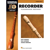 Essential Elements for Recorder - Book 1- Recorder (book only)