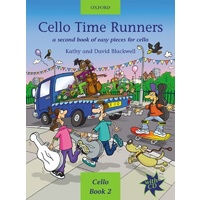 Cello Time Runners - Book/CD (Cello Book 2)