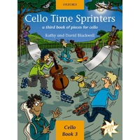 Cello Time Sprinters - Book/CD (Cello Book 3)