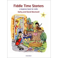 Fiddle Time Starters Book/CD