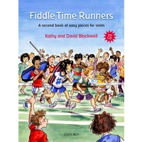 Fiddle Time Runners Book/CD - Revised Edition (Violin Book 2)