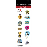 String Time Merit Stickers (Fiddle Time)