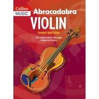 Abracadabra Violin Book 1 - 3rd Edition (Pupil's book - book only)