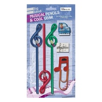 BIG BAND Treble Clef Pencil Stationary Set