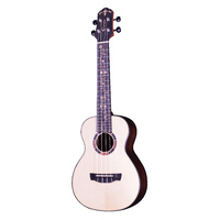 CRAFTER UC-27 Prestige Spruce Top Striped Ebony B&S Concert Ukulele