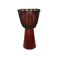 DJEMBE 50cm Plain Wood Drum