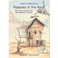 Possums in the Roof for Violin - Book/CD