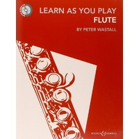 Learn As You Play Flute - Peter Wastall - BK/CD