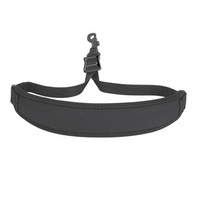 NEOTECH Neck Strap - Classic with Swivel Hook Black - Ideal for Saxophone