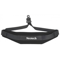 NEOTECH Saxophone Strap Soft with Open Hook - Black