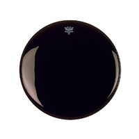 REMO Powerstroke 3 22 Inch Ebony Drumhead with Dynamo