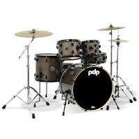 PDP Mainstage 5 Pce and Meinl HCS Pack Bronze Metallic Drum Kit
