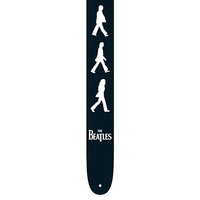 "PERRIS PS6085 2.5"" Vegan Vinyl Hi-Res ""Walking Band Members"" Beatles Licensed Guitar Strap"