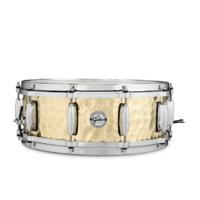 GRETSCH Full Range 14x5 Inch Hammered Brass Snare Drum