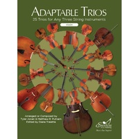 Adaptable Trios for Strings - Violin