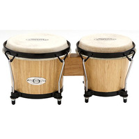 TOCA Synergy Wood Bongos Natural