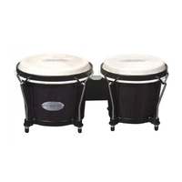 TOCA Synergy Wood Bongos Transparent Black