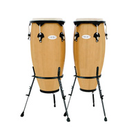 TOCA Synergy Wood Congas Natural