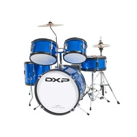 DXP Junior 5pce Drum Kit Metallic Blue TXJ5