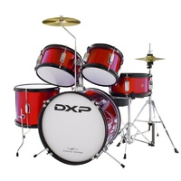 DXP Junior 5pce Drum Kit Wine Red